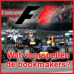 Quoteringen Bookmakers Formule 1 seizoen 2016